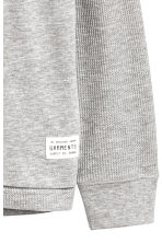 Hooded top - Grey marl - Kids | H&M 3